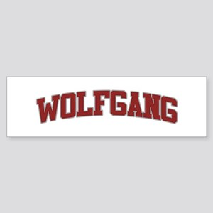 WOLFGANG Design Bumper Sticker